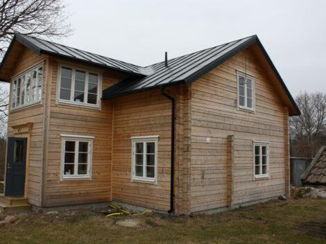 Ombyggnation av villa på Väddö
