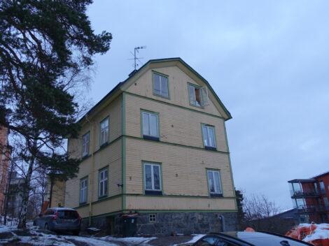 Ombyggnationsuppdrag av villa